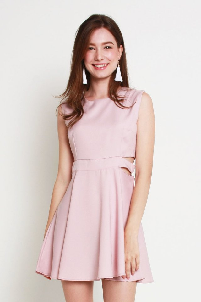 Everly Dress In Pink