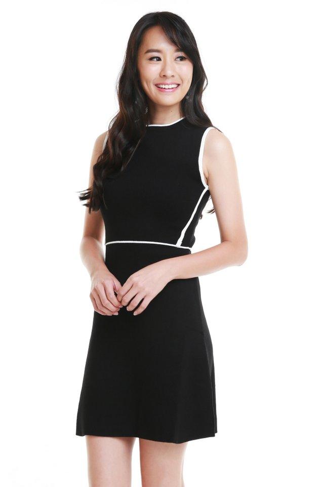 Zura Contrast Dress (Size L - Last piece!)