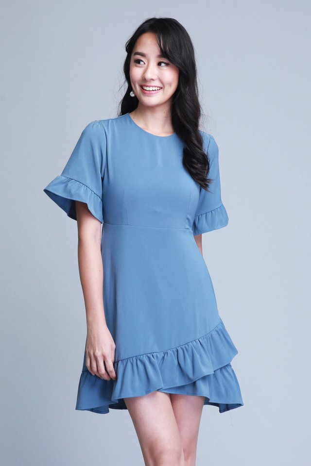 Madelyn Dress In Blue