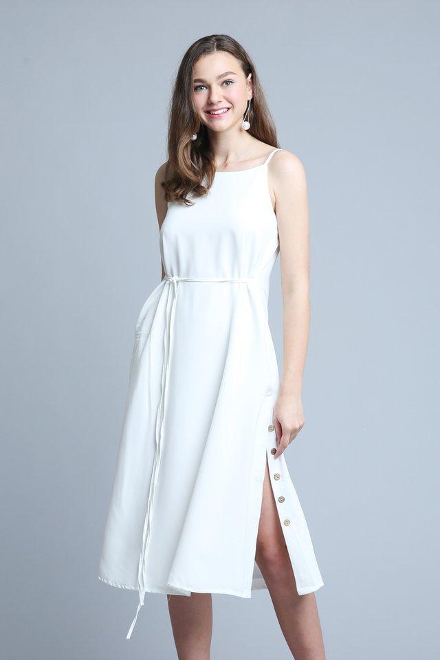 Camila Dress In White