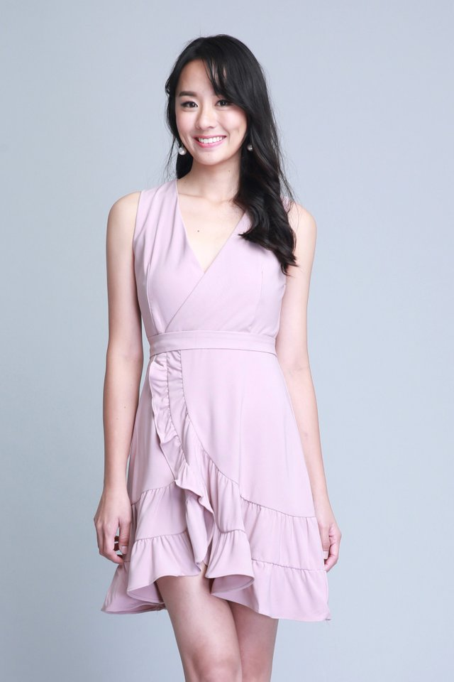 Liberty Dress in Pink