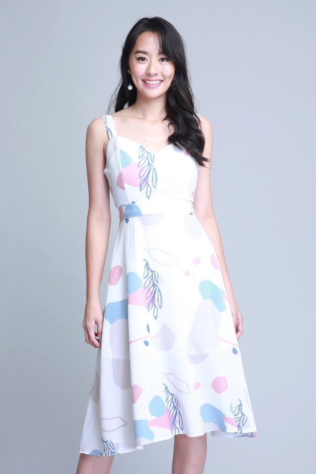 Lauryn Dress in White (Size L - Last piece!)
