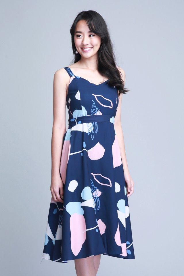 Lauryn Dress in Navy (Size M - Last piece!)