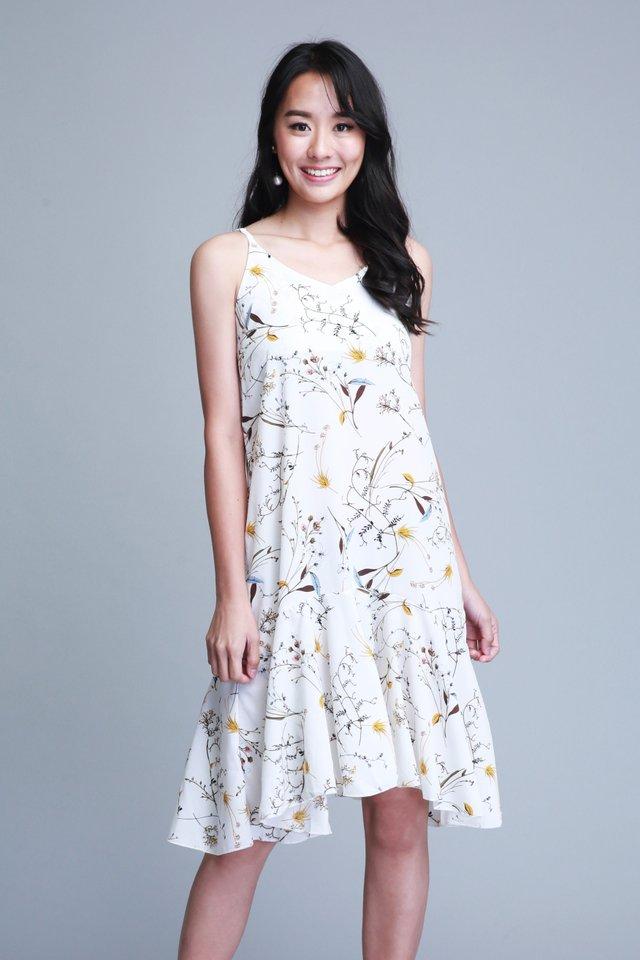 Avalynn Dress in White