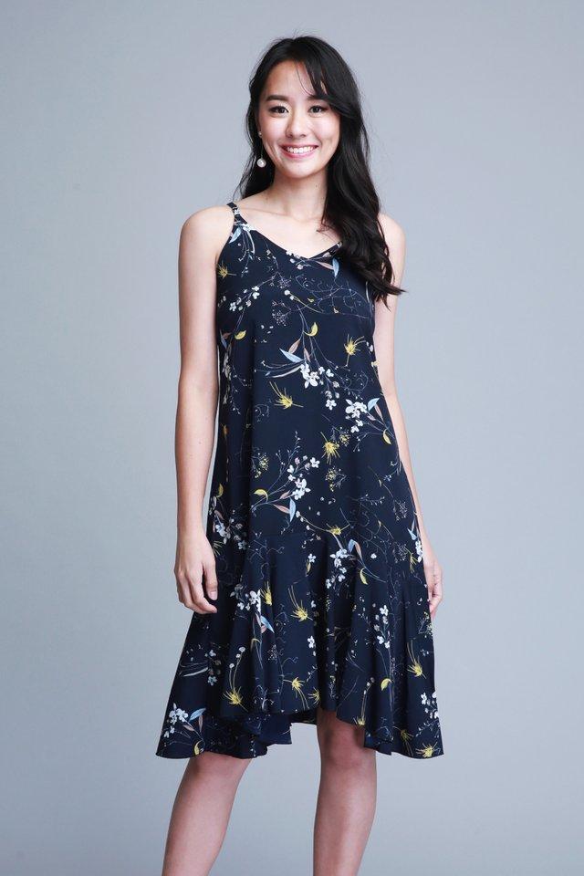 Avalynn Dress in Black (Size M - Last piece!)