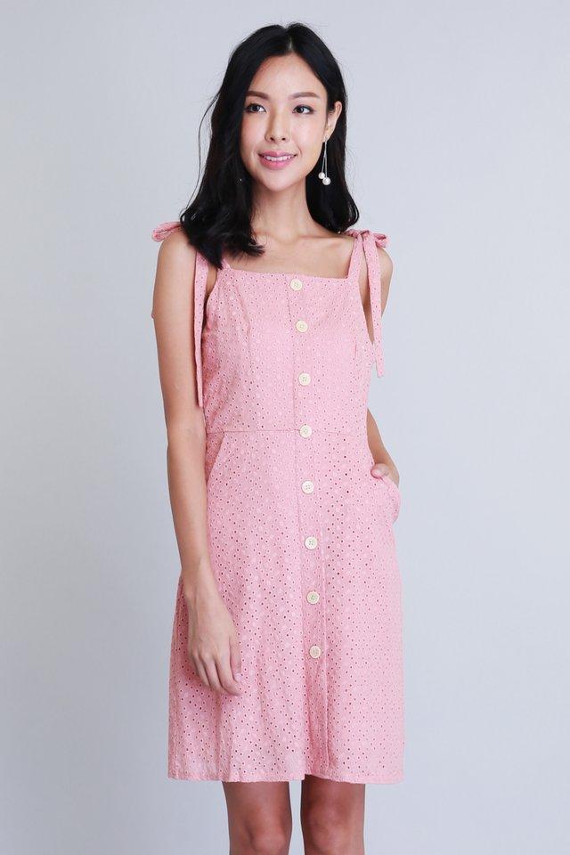 Kathleen Dress in Pink