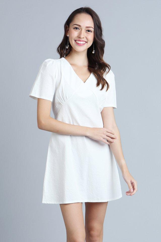 Alyssa Dress in White
